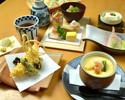 Lunch of Tokusen kaiseki course [slope Keiko]
