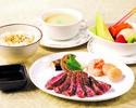 【お子さまプレート】フィレ・海鮮・野菜MIXプレートデザート付