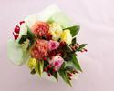 ☆【オプション】 季節の花束¥5,000(税抜)