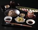 【平日限定20食】炙り寿司と稲庭蕎麦ランチ