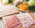 【豚と国産銘柄鶏】食べ・飲み放題コース 3800円(税抜)