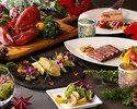 【クリスマス限定ディナー】クリスマス ペアディナーCコース          1部 18:00~19:45  2部 20:00~21:45