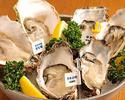 オイスターバーの牡蠣づくしスペシャルコース