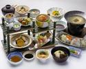 Lunch sushi set menu