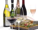 テラス席限定ボトルワイン付きブッフェ 平日ディナー