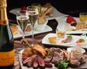 ヴ―ヴ・クリコ GARDEN シャンパン×お肉×スイーツ【ディナー期間限定】