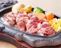 和牛ステーキ含むお料理全6品+飲み放題付き 3000円コース(税抜)