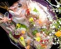 鯛の姿造里と会席『葵-AOI-』