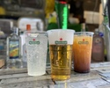 [Daytime] All-you-can-drink alcohol and soft drinks