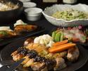◆季節限定プラン◆名物の肉料理に冬のお勧めパスタなど3時間飲み放題付きのお得な【定番プラン】