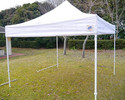 EZ-UP tent (4-leg tent)