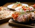 【大人気!肉盛り忘年会コース!!】「A5ランク阿波牛、ブランド豚「Tokyo X」、「薩摩錦ちきん」の食べ比べと牡蠣もついた大満足コース