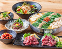 Yamakasa set with all you can drink