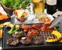 【お肉食べ放題プラン】神南軒特製BBQコース+3時間飲み放題付き