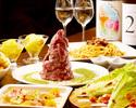 【定番】「肉のヒマラヤコース」 目で見て楽しい、食べて美味しい、名物【肉のヒマラヤ】が楽しめます!初登頂の方にお勧め!日本酒唎酒し放題付き!