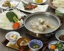 <9月>博多水炊きコース (前菜からデザートまでのコースです)