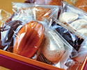 Eight assorted pastries box set