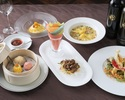 【七福-Nanafuku】彩り鮮やかなレインボーシートで包む口福な逸品をメインに、選べるデザート含む5品のコース!