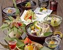 季節の会席料理 10,000円(税別)