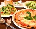 【マレンマランチ】マルゲリータエクストラ×オマール海老スパゲッティなど贅沢なフルコースランチ全6皿