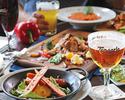 【当日OKベルギービール飲み放題】ホエー豚ステーキや大振りソーセージを楽しむお手軽プラン!