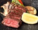 熟成牛リブロースグリル【前菜2品、パスタ】旬の厳選食材を使ったスペシャルプラン全6品