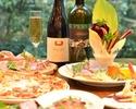 【イタリアンディナー おひとり様6000円】前菜・パスタ・メインなど全6皿×2.5時間飲み放題付き