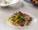 新鮮野菜とフルーツのベジフルランチ