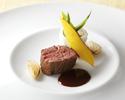 メインにお魚かお肉を選ぶディナーコース ¥6,000