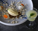 【Dinner】JANICE WONG Dessert Degustation 7 with Non Alcohol Pairing 6 glassesデザートコース 7品ノンアルコールペアリング付