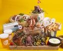 【ディナータイム】4種のお肉とシーフードを楽しむ贅沢プレミアムBBQプラン (飲み放題付き)¥5,000