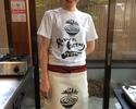 Ramen Making & take-home chef costume (apron & T-shirts)