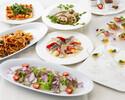 【季節を感じる洋食大皿料理8品+飲み放題】新年会プラン Premiim<プレミアム>