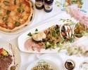 """歓送迎会にオススメ・当店1番人気【Bプラン・飲み放題付】メイン料理のついた """"少し贅沢な"""" おすすめのプラン。プランは全て名物のスパゲッティがおかわりできます。"""
