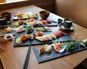 Sushi Omakase 9pc course ¥4900