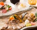 JRホテルメンバーズ リニューアルオープン10周年お昼の炙り焼きコース¥4,750相当→謝恩価格¥3,750→ホテルメンバーズ価格¥3,450