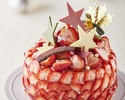 【BESPOKE会員先行販売】あまおう苺たっぷりケーキ直径15cm / 4~6名様向け