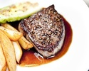 【平日、WEB限定】人気の全4品お魚もお肉も堪能できるプリフィックスディナー(前菜・メイン2品・デザート) 通常9100円→8200円