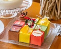 5 types of assorted mousse cake