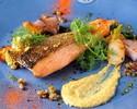 【土日祝限定】選べる本格前菜とがっつりメインディッシュ!プリフィックスコース