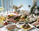 【Xmas2018】乾杯スパークリングワイン付! シンデレラのクリスマス舞踏会 ~Dinner Buffet~ 5,500
