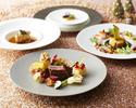 【2018 Noël ディナー】鮑、フィレ肉など豪華食材を使用したフレンチフルコース全6皿