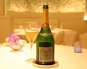 【WEB限定プラン】グラスシャンパン付、ミシュラン獲得特別記念ディナー