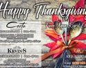 Thanksgiving Special Menu