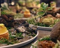 A la carte course with around 10 dishes using carefully selected seasonal ingredients
