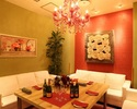 《ディナー》【幹事様必見★5500円】個室確約&スパークリング含む3時間飲み放題!焼きたてピッツァ食べ放題やロテサリーチキンなど5皿