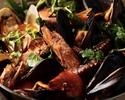 【記念日・誕生日・接待】ブイヤベースを堪能!沢山の季節野菜と獲れたて魚介を味わう(全7品)※お料理のみ