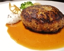 Hamburger steak one plate lunch