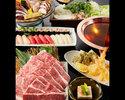 特選黒毛和牛の出汁しゃぶコース 6000円(全8品)