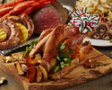 【クリスマスディナーブッフェ】鹿児島フェア 人気のローストビーフなど2時間食べ放題
